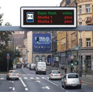 Informační tabule pro řidiče budovala Praha naposledy v roce 2013. Foto: TSK Praha