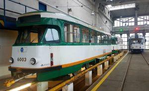 Tramvaje T2R v dílnách Ekova Electric. Foto: Ekova