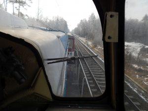 Dieselová lokomotiva Faur a vůz 810. Autor: Zdopravy.cz/Jan Šindelář