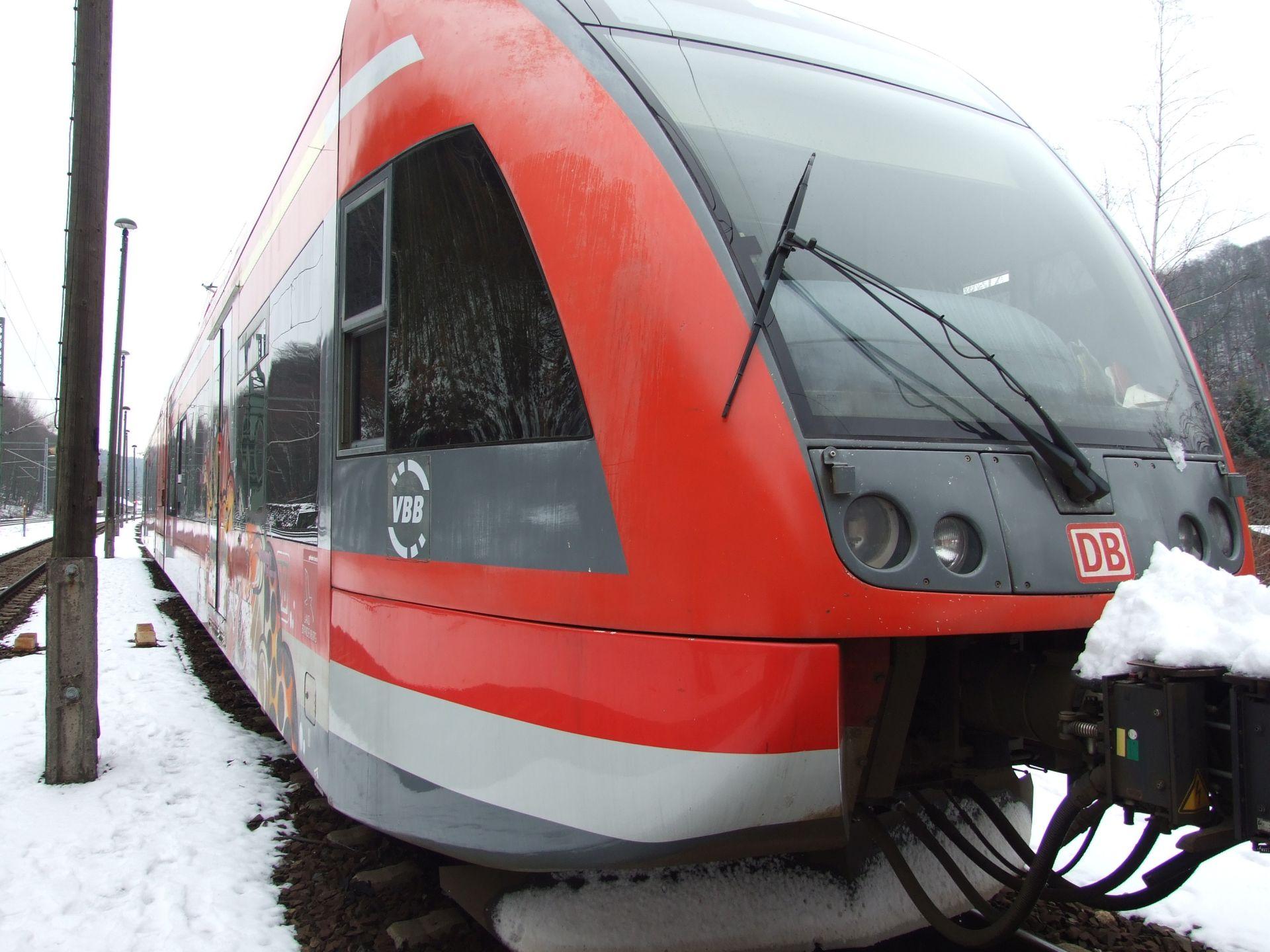 Jednotka Stadler GTW po příjezdu do Česka. Foto: České dráhy