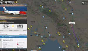 Po deseti týdnech odletěl Boeing 737 MAX 8 z íránského Širázu. Foto: FR24.com