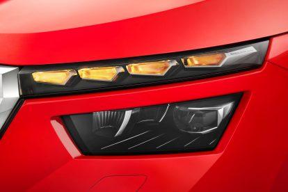 Detail nových světel a blinkrů Kamiqu. Foto: Škoda Auto