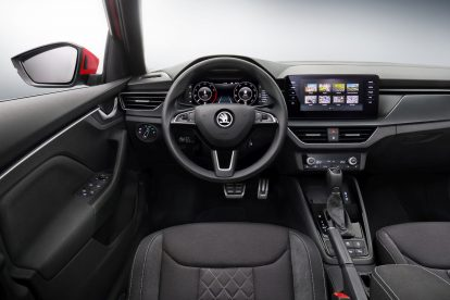 Interiér Škody Kamiq. Foto: Škoda Auto