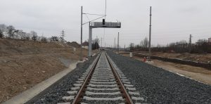 Stavba koridoru Hostivař - Vršovice. Autor: Swietelsky Rail
