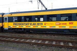 Prezidentský vlak RegioJetu. Pramen: RegioJet