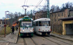 Tramvaje v Proseči nad Nisou. Foto: Jan Sůra
