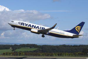 Boeing 737-800 společnosti Ryanair. Foto: skeeze/Pixabay.com