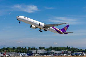 Boieng 777-300 společnosti Thai Airways. Foto: Boeing