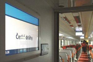 S výrobky UniControls se setkávají běžně cestující ve vozech Českých drah. Foto: UniControls