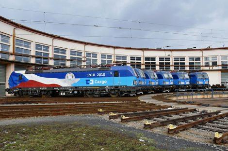 Předání nových vectronů pro ČD Cargo v Ústí nad Labem. Foto: Michal Roh ml.