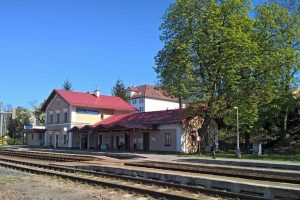 Železniční stanice Praha - Veleslavín. Foto: SŽDC