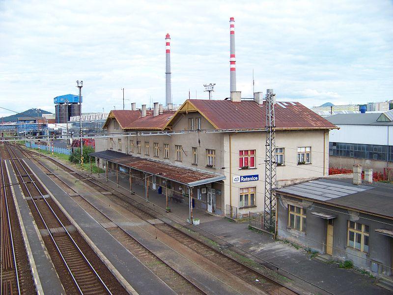 Nádraží Řetenice. Autor: ŠJů, Wikimedia Commons