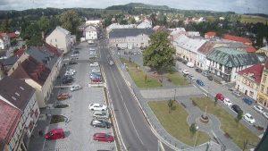Pohled na náměstí ve Šluknově. Foto: www.mesto-sluknov.cz