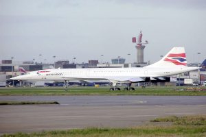 Concorde British Airways v Londýně. Foto: Arpingstone/Wikimedia Commons