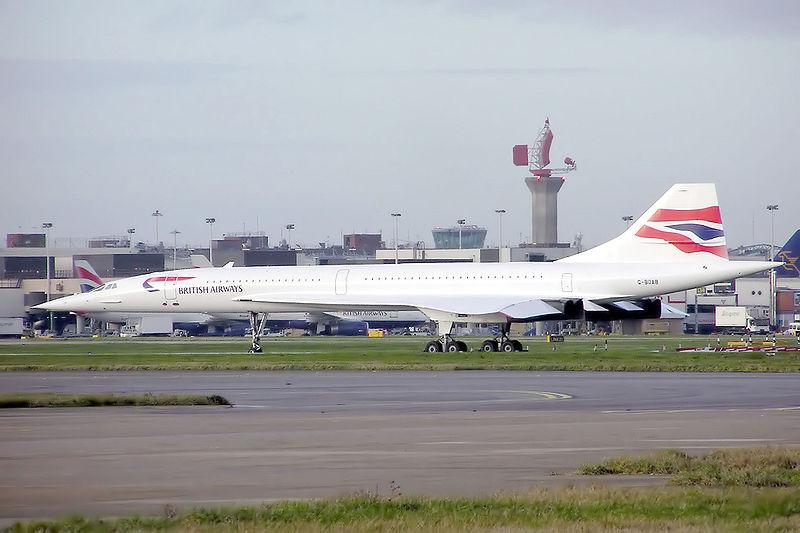 Concorde British Airways v Londýně. Foto: Arpingstone/Wikimedia Commons