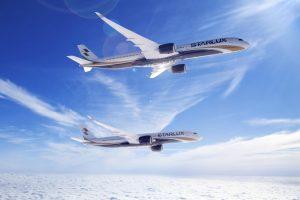 Airbus A350 v barvách nového dopravce Starlux Airlines. Foto: Airbus