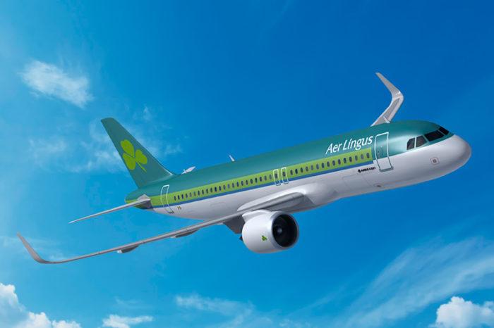 A321LR v barvách Aer Lingus. Foto: Airbus