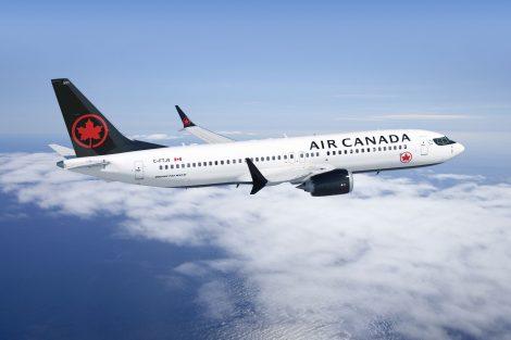 Boeing 737 MAX v barvách Air Canada. Foto: Air Canada
