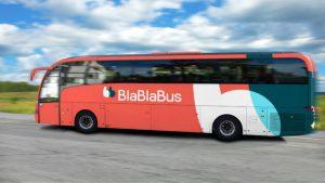 Vizualizace autobusu BlaBlaBus. Foto: BlaBlaBus