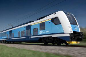 Vizualizace nové podoby RegioPanteru pro 140 cestujících. Foto: České dráhy