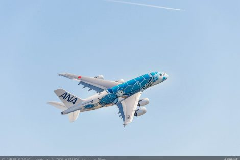 A380 v barvách All Nippon Airways. Foto: Airbus