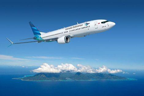 Boeing 737 MAX 8 v barvách Garuda Indonesia. Foto: Boeing