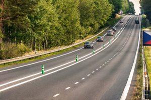 V úseku Mirošovice - Benešov už silnice I/3 prošla modernizací. Pramen: ŘSD