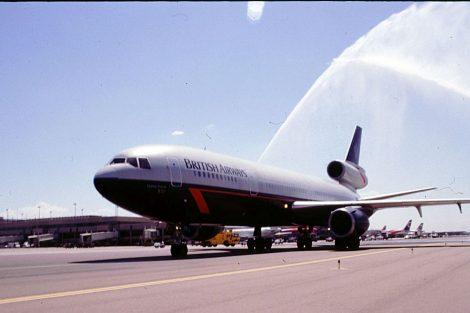 McDonell Douglas DC-10 v nátěru Landor. Foto: BA