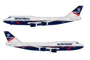 Boeing 747-400 v nátěru Landor. Foto: BA