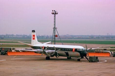 Vickers Vanguard v nátěru British European Airways. Foto British Airways
