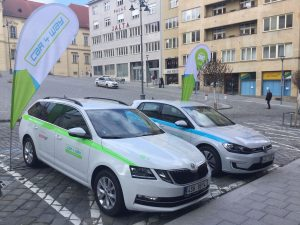 Auta Car4Way v Brně. Foto: Car4Way