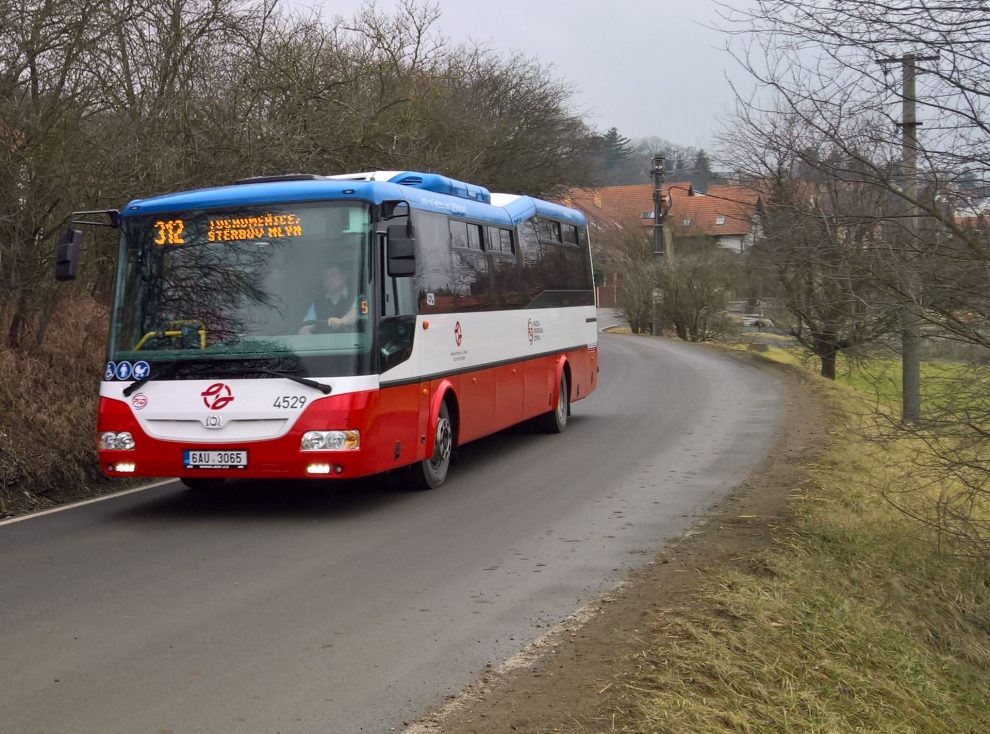 Autobus PID do Tuchoměřic. Autor: Ondřej Kubala