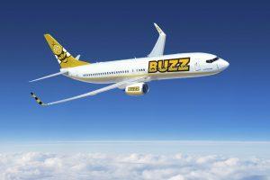 Boeing 737-800 v nátěru aerolinky Buzz. Foto: Ryanair