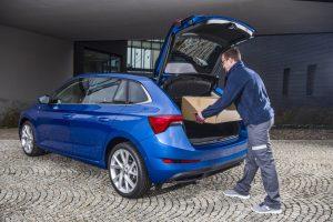 Škoda Auto testuje vzdálený přístup do automobilu kvůli doručování zásilek. Foto: Škoda Auto
