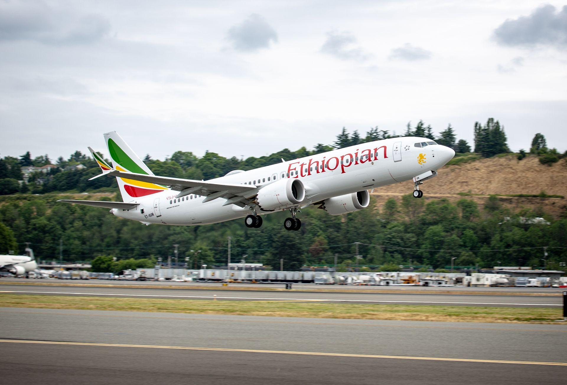 Boeing 737 MAX 8 společnosti Ethiopian Airways. Foto: Boeing