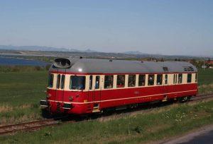 Krokodýl 851 na trati Kadaň - Podbořany. Autor: Radim Říha