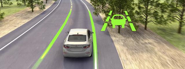 Všechna auta budou muset být nově vybavena i funkcí hlídání jízdních pruhů, tzv. Lane Assist. Foto: Chevrolet