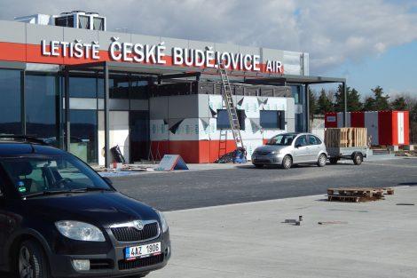 Letiště České Budějovice, nový terminál, příletová brána. Autor: Zdopravy.cz/Jan Šindelář