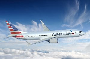 Boeing 737 MAX v barvách American Airlines. Foto: Boeing