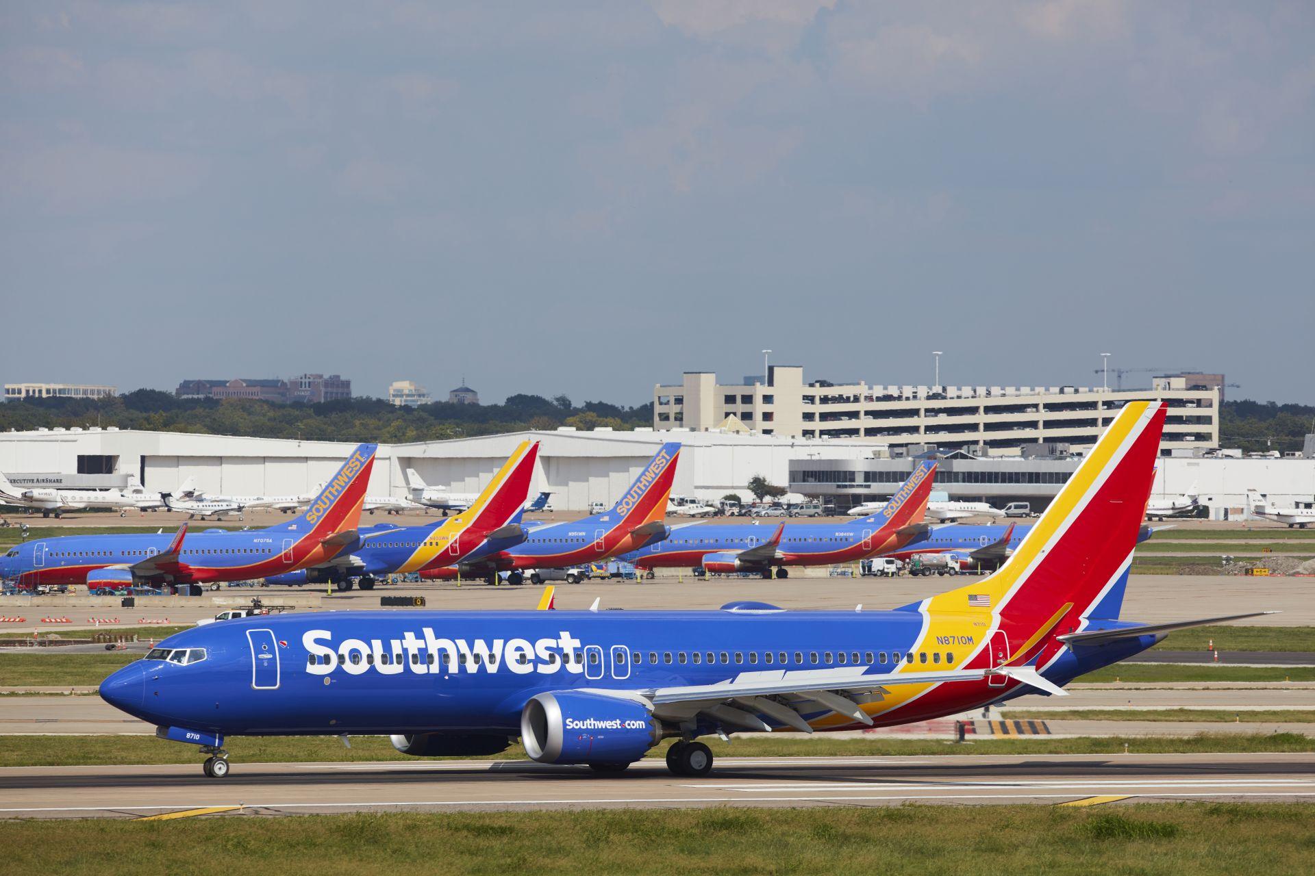 Boeing 737 MAX 8 v barvách Southwest Airlines. Foto: Southwest Airlines