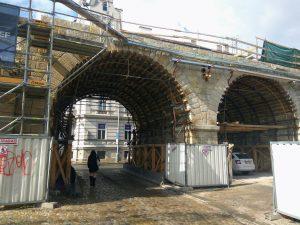 Průběh rekonstrukce Negrelliho viaduktu. Foto: Jan Sůra