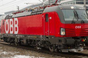 Lokomotiva Siemens Vectron v barvách ÖBB. Foto: Rail Cargo Group