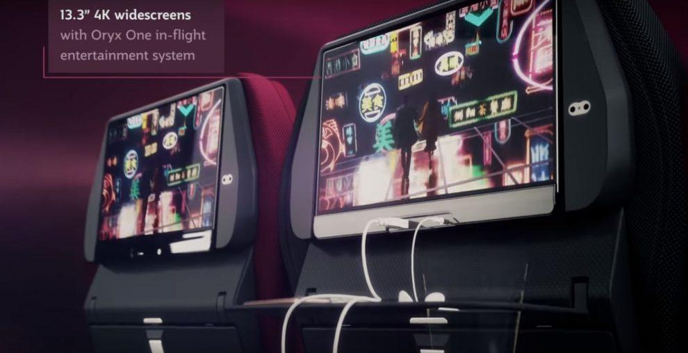 Nová podoba ekonomické třídy. Foto: Qatar Airways