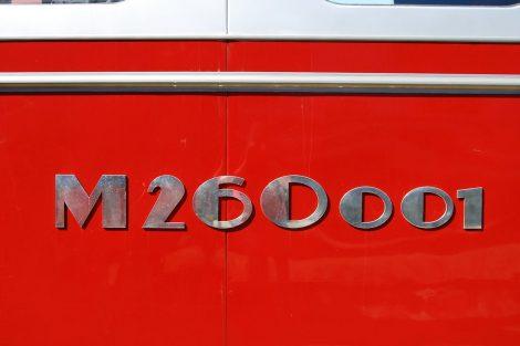 Motorový vůz M 260.0 Stříbrný šíp. Foto: České dráhy