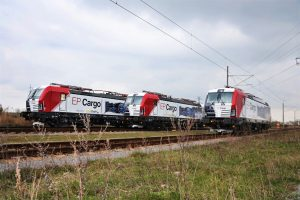 Nové lokomotivy vectron pro EP Cargo. Pramen: Siemens
