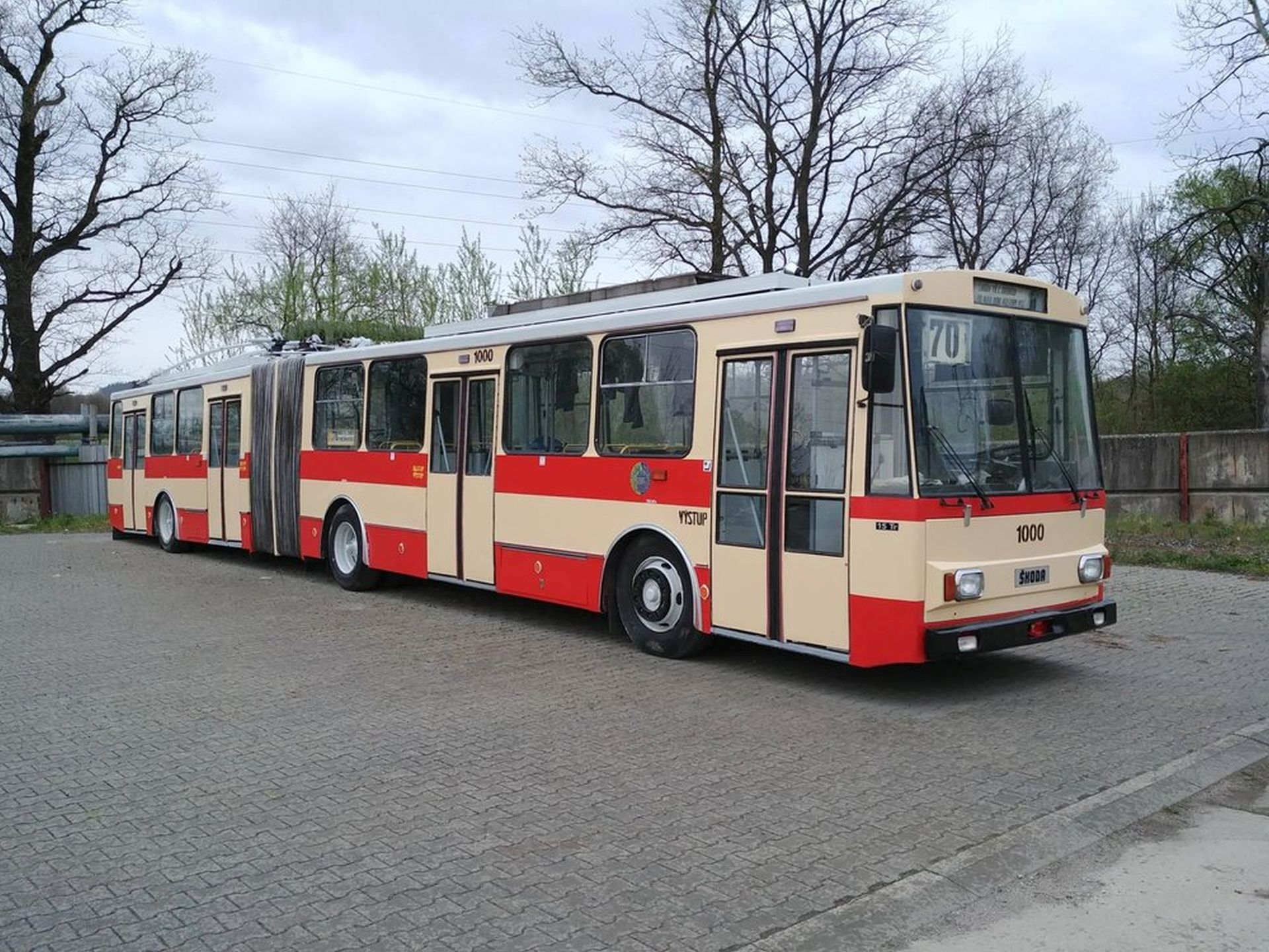 Trolejbus Škoda 15 Tr po renovaci. Foto: Vojtěch Jandásek / Československý dopravák
