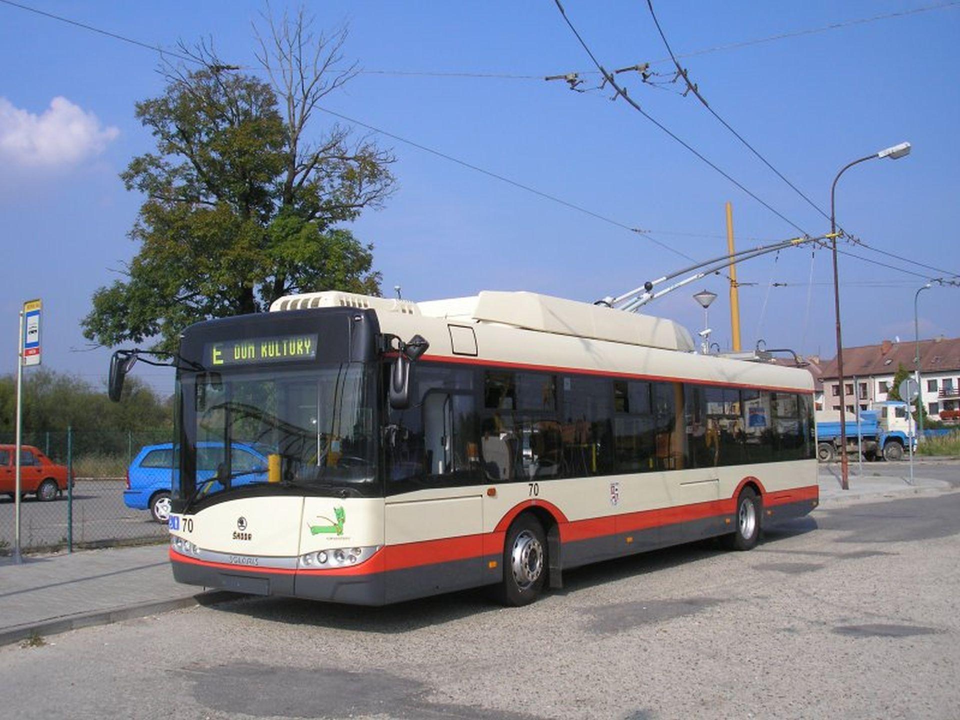 Trolejbus Škoda Solaris 26Tr v Jihlavě. Foto: DPMJ