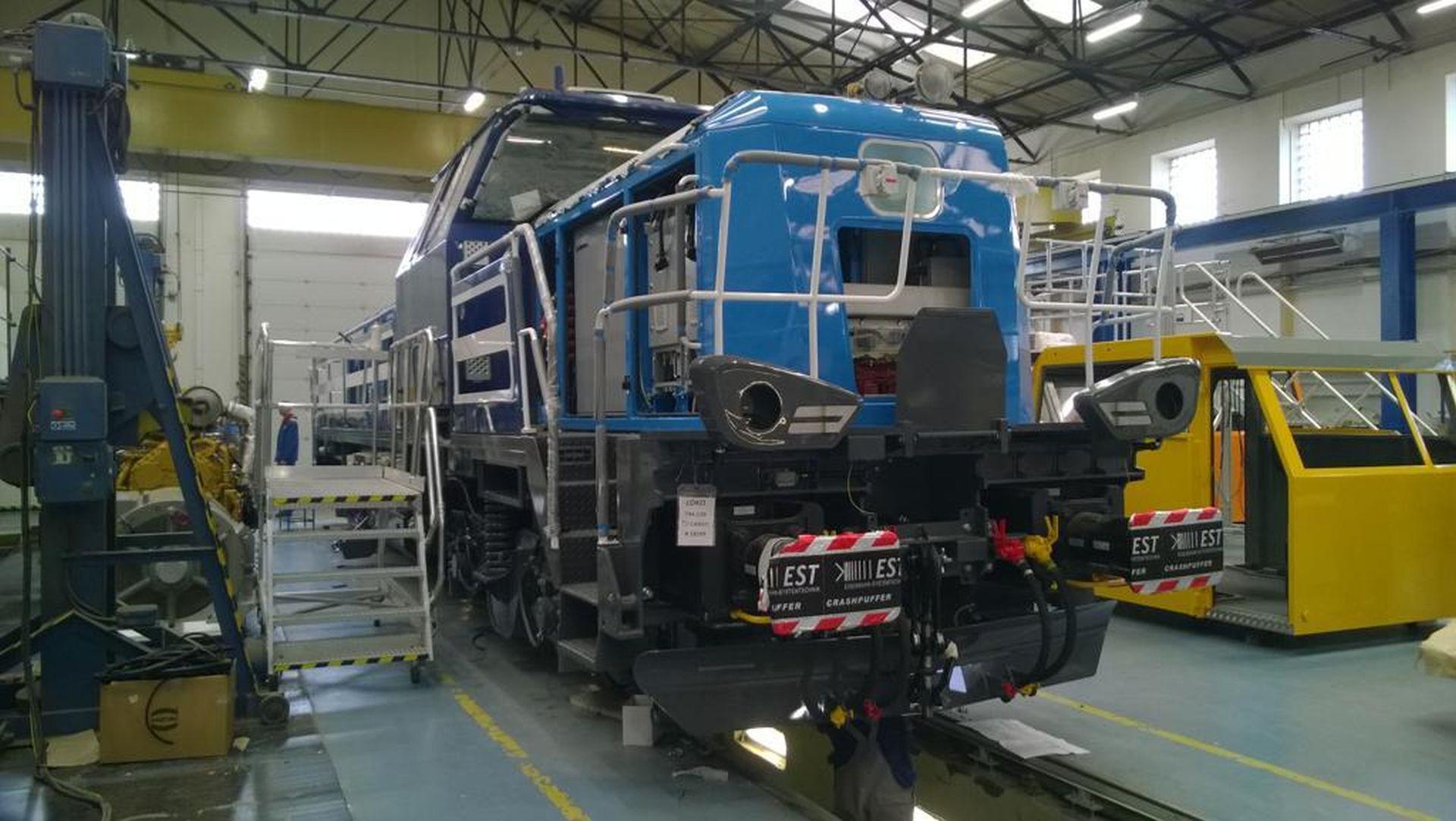 EffiShunter 1000 pro ČD Cargo. Foto: CZ LOKO