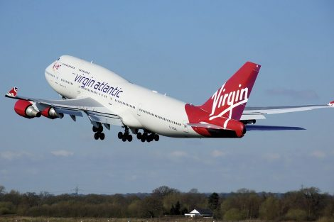 Boeing 747-400 Virgin Atlantic. Foto: skeeze/Pixabay.com