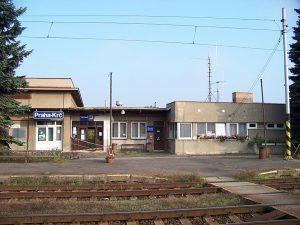Výpravní budova Praha - Krč. Foto: ŠJů/Wikimedia Commons